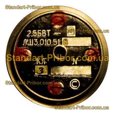 2.5БВТ-Д ЛШ3.010.518 кл.т. 5 трансформатор вращающийся - изображение 2