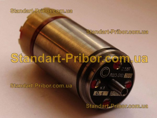2.5ВТ ЛШ3.010.398 кл.т. 0.05 трансформатор вращающийся - фотография 1
