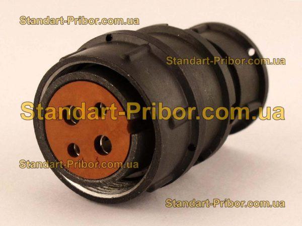 2РМТ22КПЭ4Г3В1ЛВ розетка кабельная - фотография 1