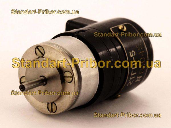 2ТГП-5 тахогенератор постоянного тока - фотография 1
