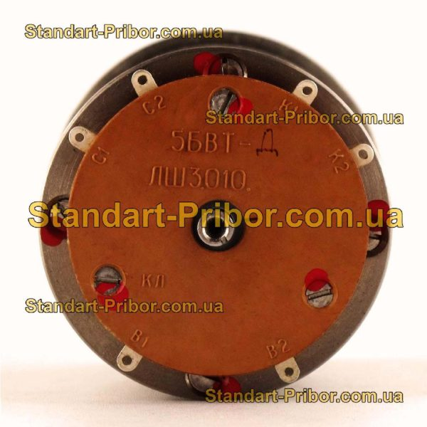 5БВТ-Д ЛШ3.010.516-03 кл.т. 0.05 трансформатор вращающийся - фото 3