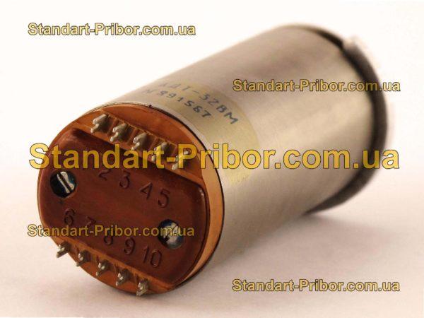 АДТ-32ВМ электродвигатель-тахогенератор - изображение 2