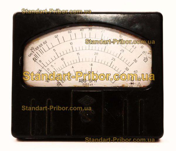 АВО-5М1 вольтамперметр лабораторный - фото 6