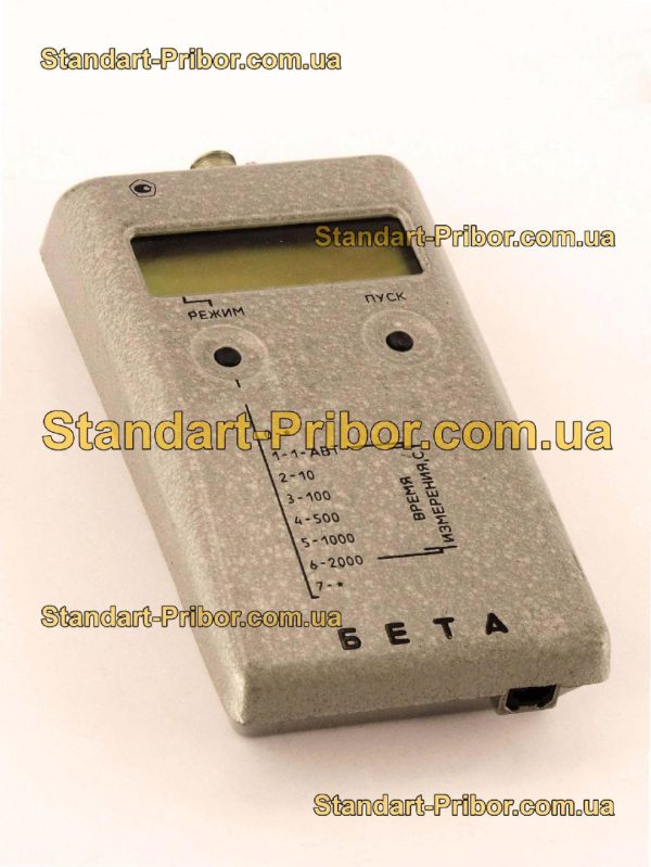 Бета дозиметр, радиометр - фотография 1