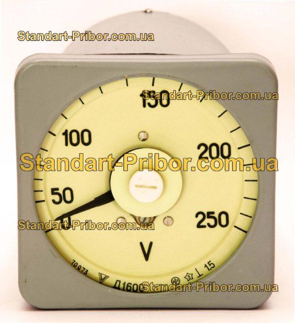 Д1600 амперметр, вольтметр - фотография 1