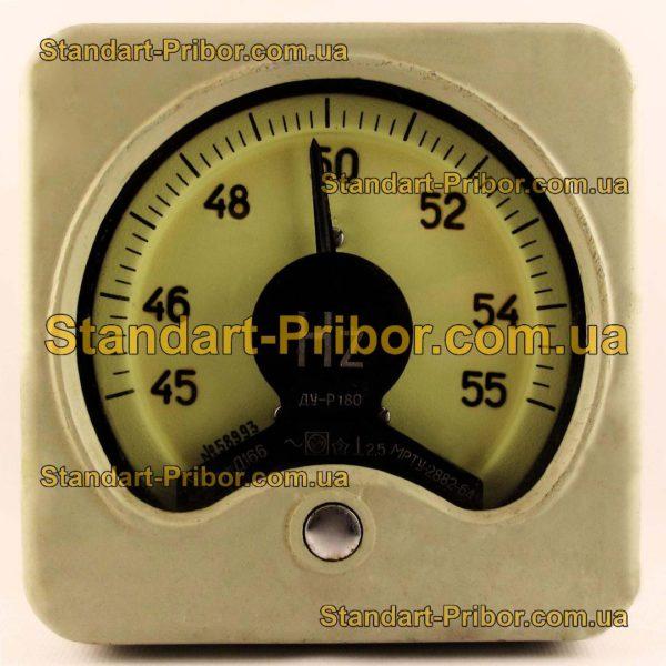Д166 (+добавочное сопротивление) частотомер - фотография 1