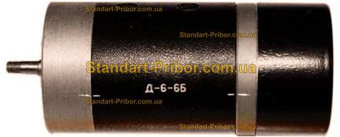 Д6-6Б электродвигатель - фотография 1