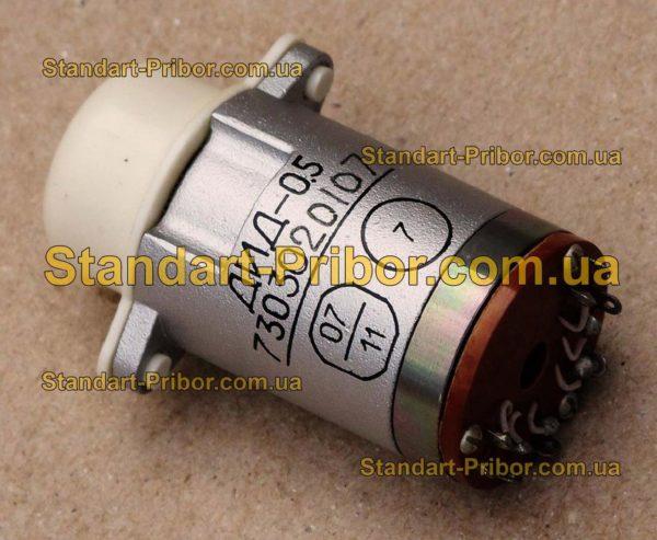 ДИД-0.5С двигатель двухфазный индукционный - изображение 2