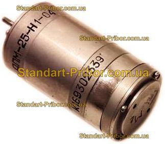 ДПМ-25-Н1-04 электродвигатель - фотография 1