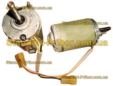 ДПС-12-25 12В и 24В, 25Вт, 3000 об/мин электродвигатель - фотография 1