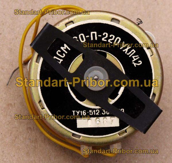 ДСМ-60-П-220 электродвигатель - изображение 2