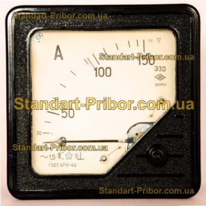 Э30/1 амперметр, вольтметр - фотография 1
