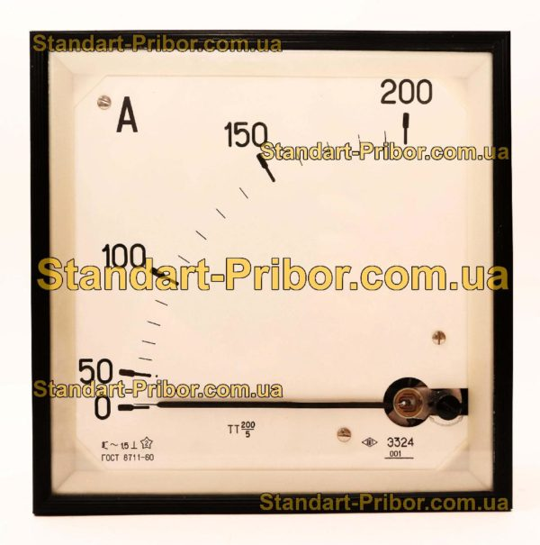 Э324 амперметр - фотография 1