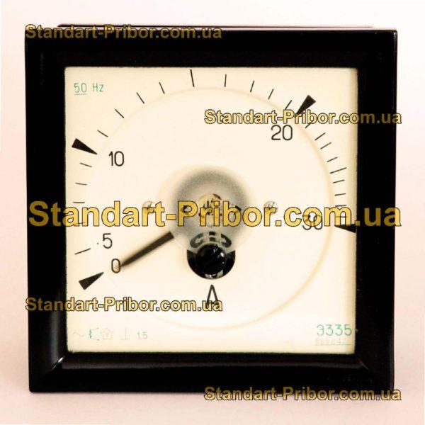Э335 амперметр, вольтметр - фотография 1