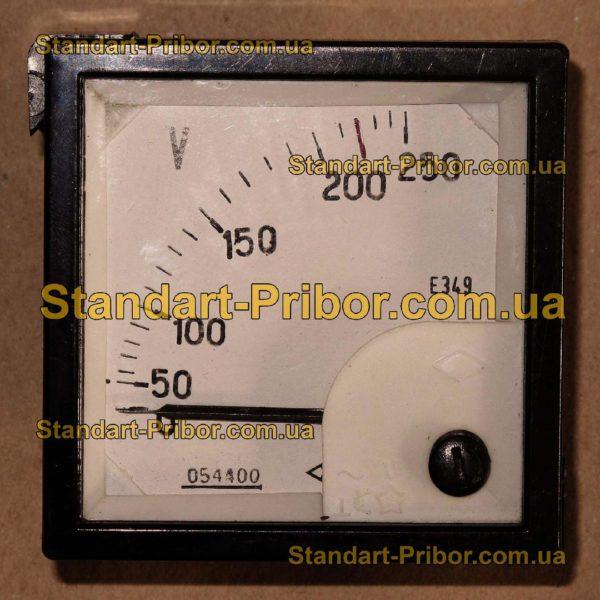 Е349 амперметр, вольтметр  - изображение 2