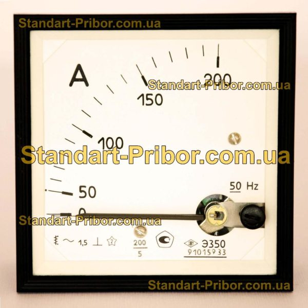 Э350 амперметр, вольтметр - фотография 1