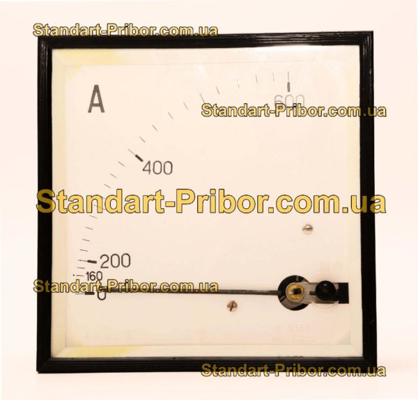 Э351 амперметр, вольтметр - фотография 1