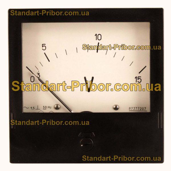 Э365-1 амперметр, вольтметр - фотография 4
