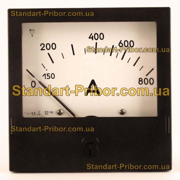 Э365-1 амперметр, вольтметр - фото 6