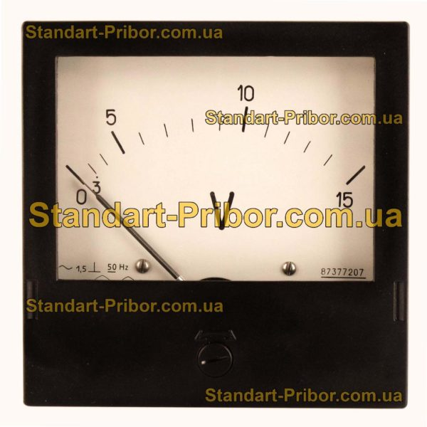 Э365-3 амперметр, вольтметр - фотография 4