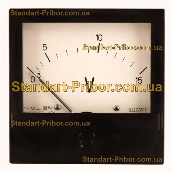 Э365 амперметр, вольтметр - фотография 4
