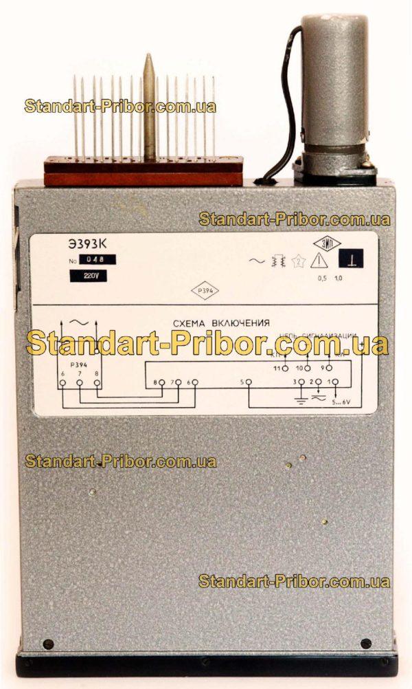 Э393 частотомер узкопрофильный - фотография 4