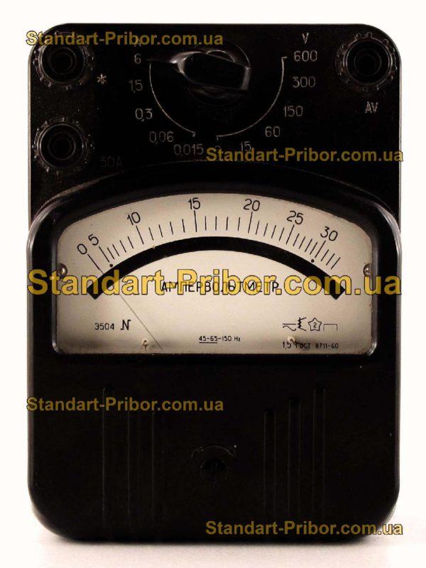 Э504 вольтамперметр лабораторный - изображение 2