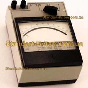 Э513/4 амперметр, миллиамперметр - фотография 1