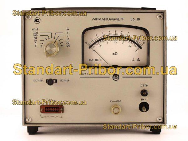 Е6-18 измеритель сопротивления - изображение 2