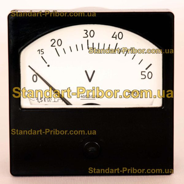 Э8035 амперметр, вольтметр - фотография 1