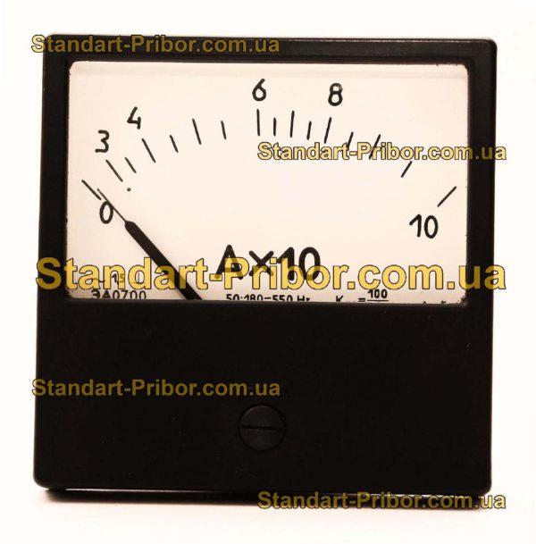 ЭА0700 амперметр - фотография 1