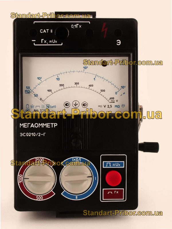 ЭС0210/1Г мегаомметр - фото 3