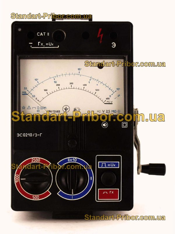ЭС0210/3 мегаомметр - фотография 4