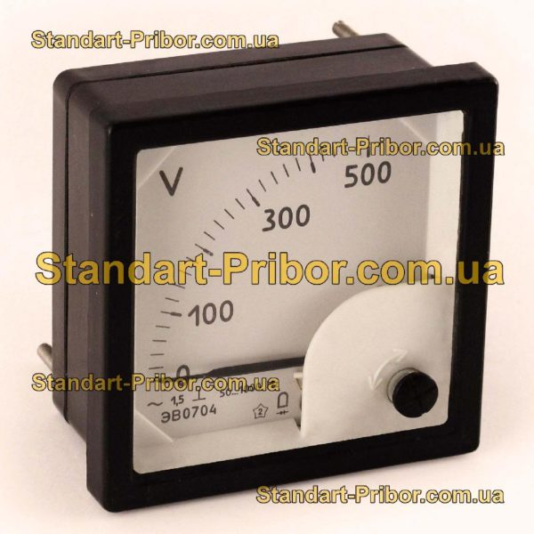 ЭВ0704 вольтметр - фотография 1