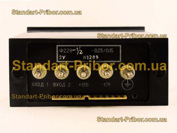 Ф229-1/2 прибор цифровой - изображение 2