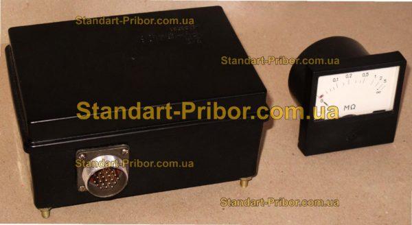 Ф4106 мегаомметр, прибор контроля изоляции - фотография 1