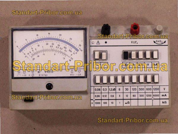 Ф4313 тестер, прибор комбинированный - изображение 2