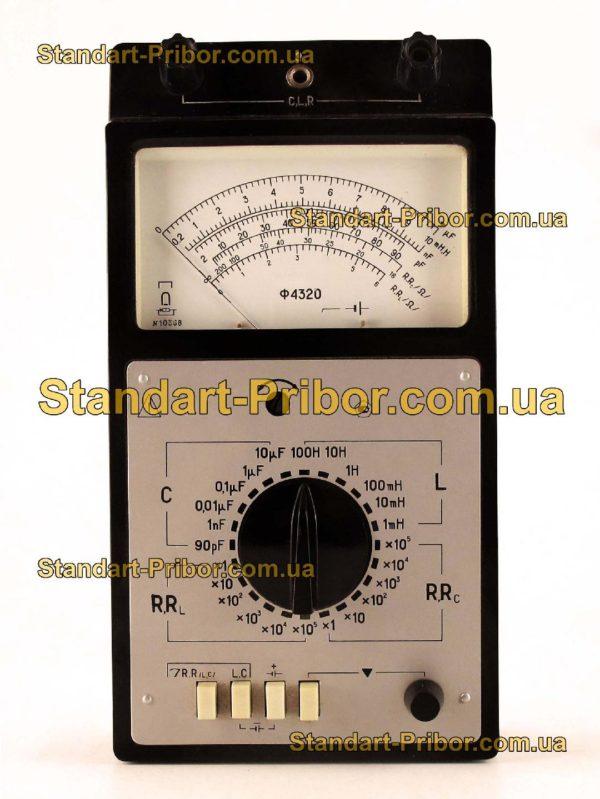 Ф4320 тестер, прибор комбинированный - изображение 2
