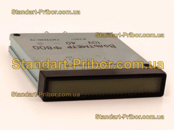 Ф800 вольтметр электронно-люминесцентный - фотография 1