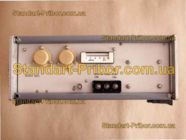 Г3-118 генератор сигналов низкочастотный - изображение 5