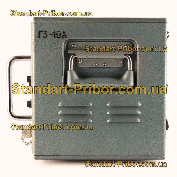 Г3-19А генератор сигналов низкочастотный - фотография 4