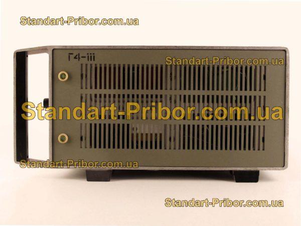 Г4-111А генератор сигналов высокочастотный - фотография 4