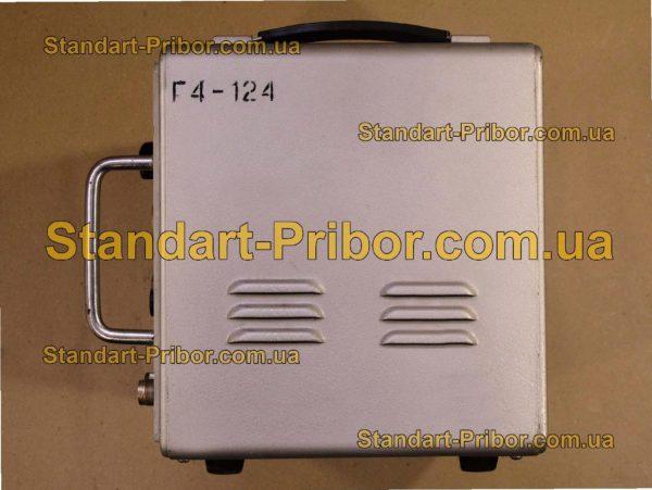 Г4-124 генератор сигналов высокочастотный - фотография 4
