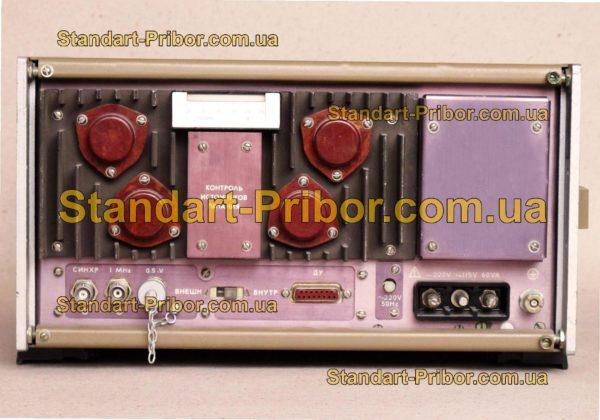 Г4-158 генератор сигналов высокочастотный - фотография 4