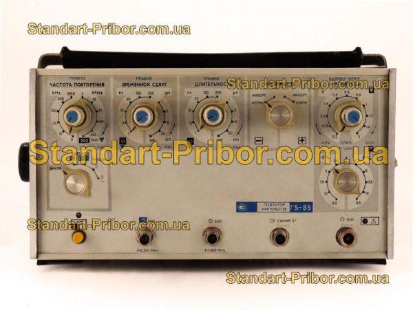 Г5-85 генератор импульсов - изображение 2