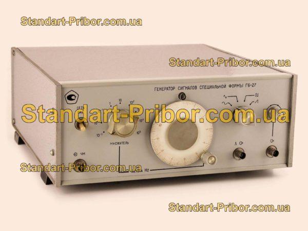 Г6-27 генератор сигналов - фотография 1