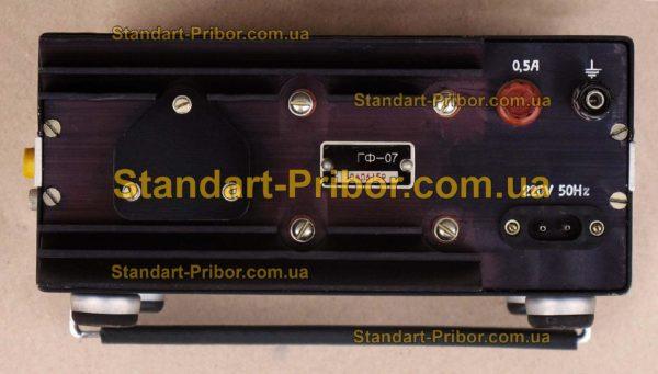 ГФ-07 генератор сигналов низкочастотный - фото 6