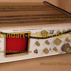 Х1-48 прибор для исследования АЧХ - фотография 1
