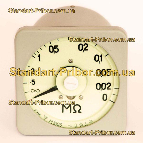 М1603 (+Р1823.1/1) мегомметр - фотография 1