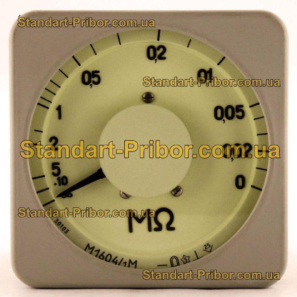 М1604/1 мегаомметр - изображение 2